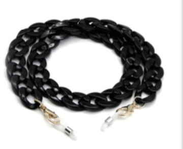 mask chain black