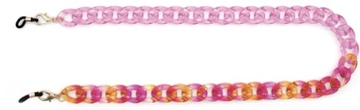 mask chain Two-tone Pink & Pink,Orange